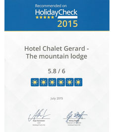 Award HolidayCheck 2015