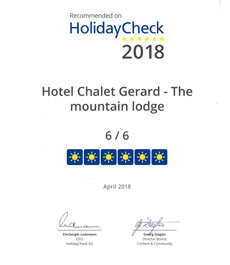 Award HolidayCheck 2018