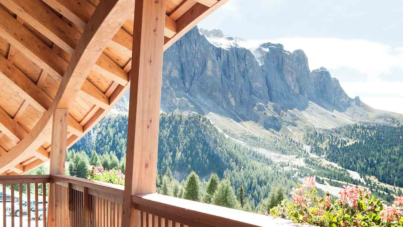 A view of Val Gardena