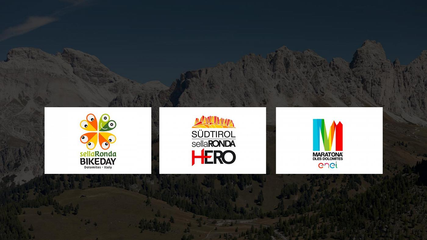 Sellaronda bike day, Maratona dles Dolomites and Sellaronda hero